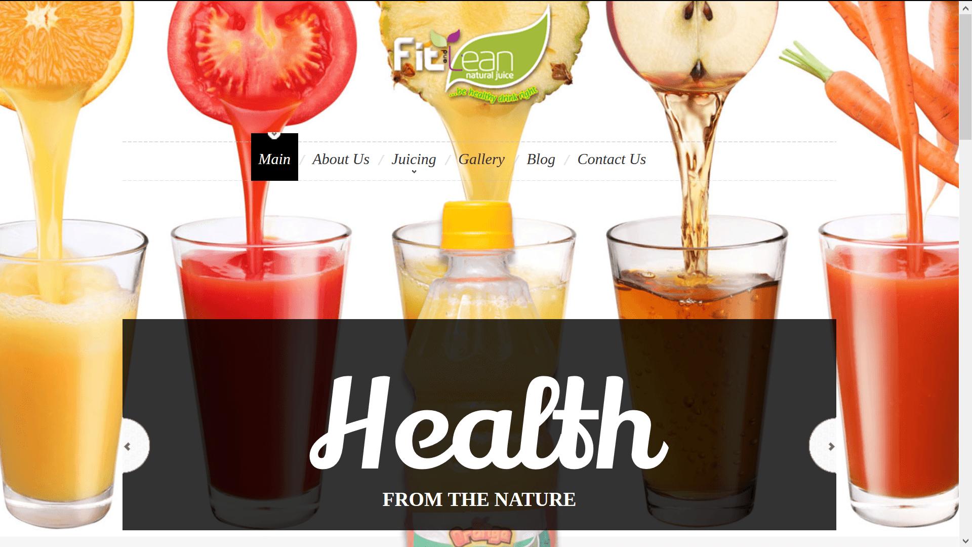 Fit & Lean Juice