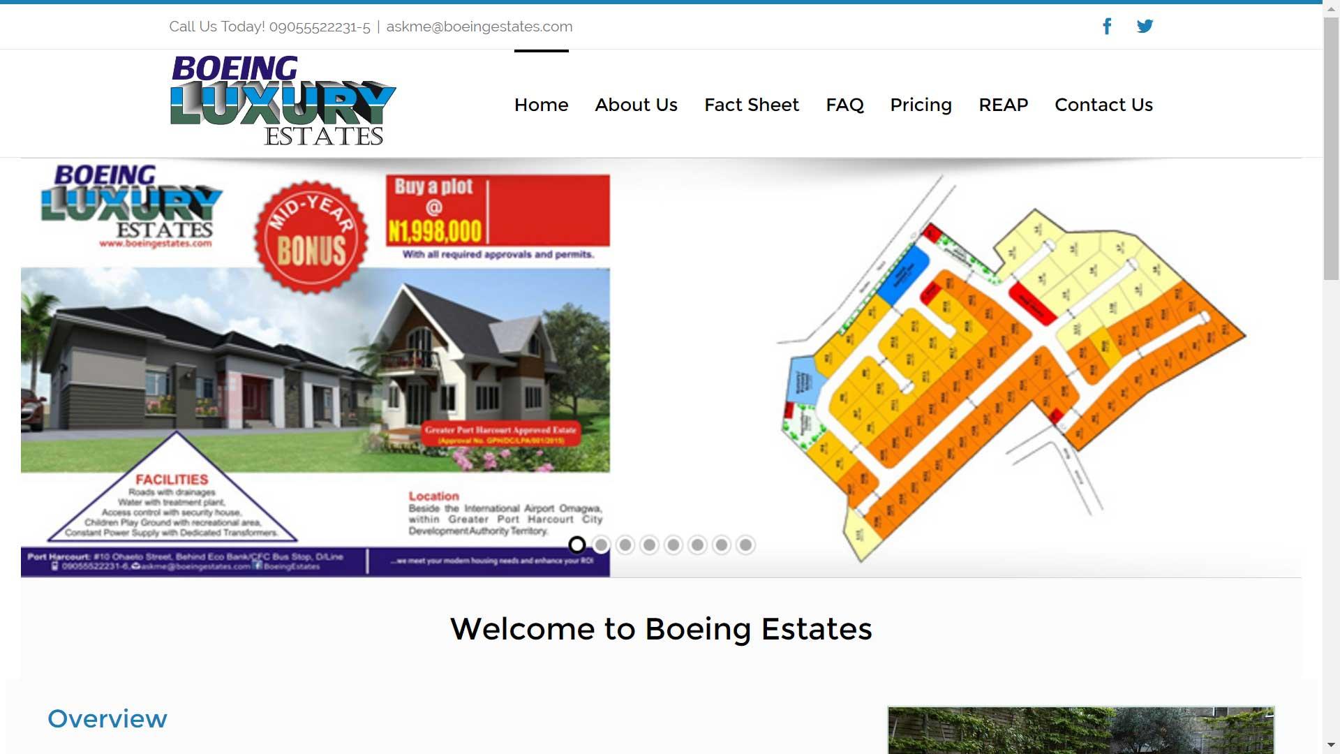 Boeing Luxury Estates